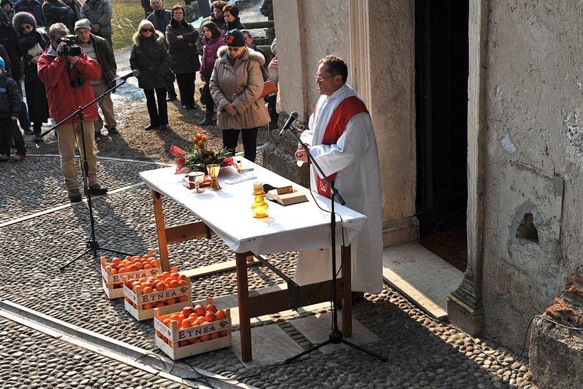 Święcenie pomarańczy
