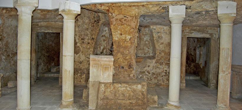Krypta św. Onfurego w Castrignano de Greci, VI w.