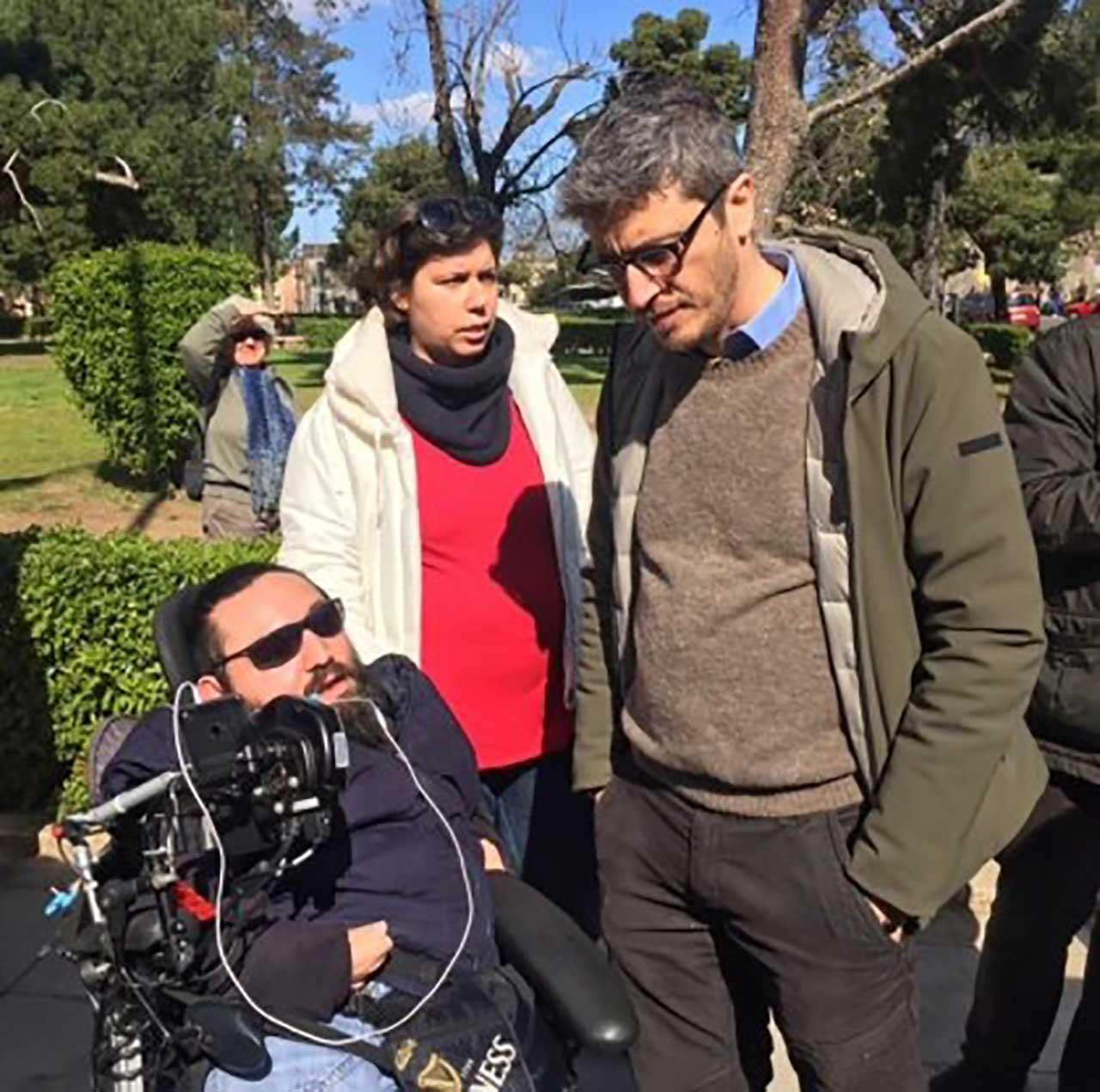 Pif podczas manifestacji osób niepełnosprawnych