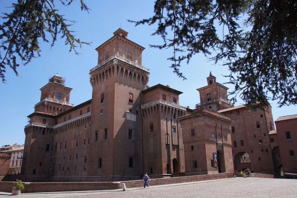 Castello Estense. Autor: Fredrik Rubensson