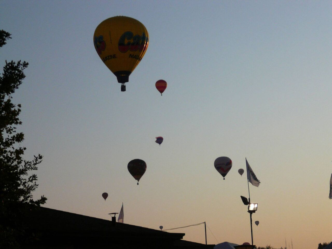Ferrara Balloon Festival. Autor: Giulio Rosalia.